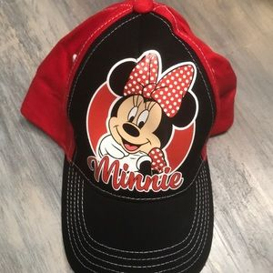 5/$10 Disney Minnie Mouse toddler hats nwot os